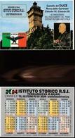16244) CALENDARIETTO DA TASCA ISTITUTO STORICO R.S.I. ROCCA DELLE CAMINATE 2004 - Calendari