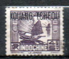 KOUANG- TCHEOU  4/5c Violet 1937 N° 101 - Unused Stamps