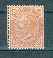ITALIE ; Victor-Emmanuel II ; 1863-77 ; Y&T N° 15 ; Neuf - 1861-78 Victor Emmanuel II