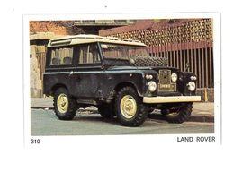 CHROMO IMAGE AUTOMOBILE AMERICANA MUNICH N°310 LAND ROVER - Autres