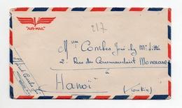 """!!! PRIX FIXE : CHINE, LETTRE EN FRANCHISE POUR HANOI, CACHET """"TROUPES FRANCAISES EN CHINE, CONTROLE AU DEPART"""" AU VERSO - China (1894-1922)"""