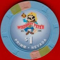 $1 Casino Chip. Whiskey Pete's, Primm, NV. K92. - Casino