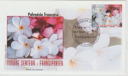 Polynésie Française 2006 Fleurs 775 - FDC