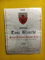 6999 -  Château Tour Blanche 1986 Saint Emilion - Bordeaux