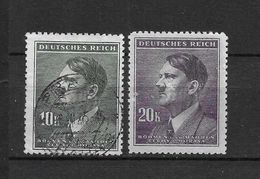 LOTE 1660  ///  BOHEMIA Y MORAVIA   YVERT Nº: 95/96 - Used Stamps
