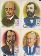 MAXIMUM CARD ROMANIA, CRISAN, PETRE S. AURELIAN, MIHAI CIUCA,DIMITRIE LEONIDA - Maximumkarten (MC)