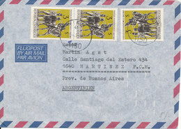 Austria Air Mail Cover Sent To Argentina Wien 20-4-1978 - Airmail