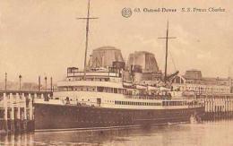 Paquebot        518      Ostende. Paquebot  S.S. Prince Charles ( Belgique ? ) - Steamers