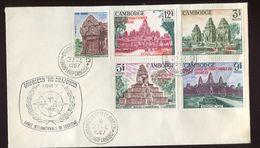 Cambodge 1er Jour   - 188 à 192 Année Du Tourisme - Cambodia