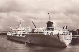 Pétrolier        620        Le Havre.Un Pétrolier à Quai ( Lorraine Dunkerque ) ( 76 ? ) - Pétroliers