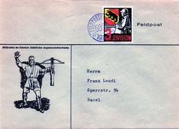 B -  Svizzera - Feldpost - Military Post