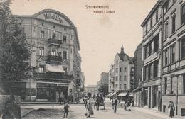 Schneidemühl-Mühlen-Strasse-Möbel-Haus.Cigarren-Zensur-Feldpost - Elsass