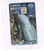 GRECIA (GREECE) -  1999 -  WATER FALL     - USED - RIF.   24 - Greece