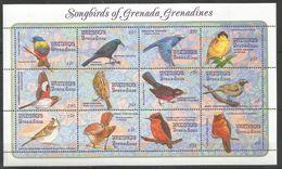 GRENADA - MNH - Animals - Birds - Songbirds Of Grenada Grenadines - Autres