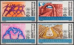 //// JO 1972 - Tchad Y. A 89 / A 92** - M. 400 / 403** - Ete 1972: Munich