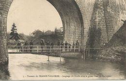 Travaux Du Frasne-Vallorbe - Jaugeage Du Doubs Sous Le Grand Pont De Rochejean - France
