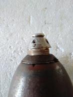 Fusée Pour Obus Mortier Allemand 80mm - INERTE. - Armes Neutralisées