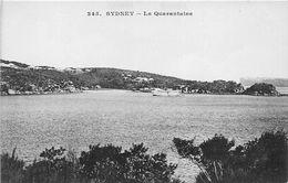 ¤¤    -   AUSTRALIE   -  SYDNEY   -  La Quarantaine      -  ¤¤ - Sydney
