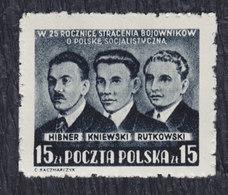 Poland 1950 , MNH (**) Michel 563 - 1944-.... Republik
