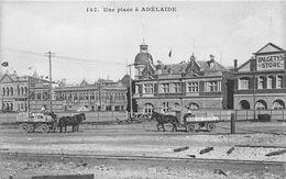 ¤¤    -   AUSTRALIE   -  ADELAIDE   -   Une Place   -   Attelage     -  ¤¤ - Adelaide