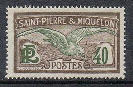 SAINT-PIERRE-ET-MIQUELON N°87 N* - St.Pierre & Miquelon
