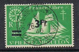 SAINT-PIERRE-ET-MIQUELON N°320  Belle Oblitération De L'Ile Aux Marins  Superbe - St.Pierre & Miquelon
