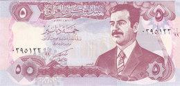 IRAQ 5 DINARS 1992 P-80 REPLACEMENT PREFIX 99 UNC - Iraq