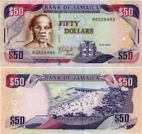 JAMAICA      50 Dollars      P-83e      15.1.2010      UNC - Jamaica