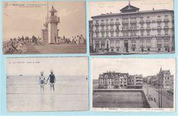 Beau Lot De 30 Cartes Postales De Belgique La Côte  Mooi Lot Van 30 Postkaarten Van Belgische Kust - 8 Scans - Postcards