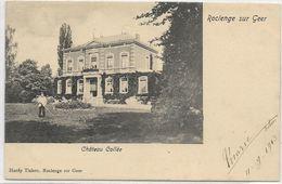 ROCLENGE S/Geer : Château Collé - Petite Animation - 1903 - Bassenge