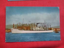 S.S. Pacific Transport  Hong Kong Harbor  Ref 2851 - China (Hong Kong)