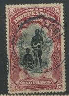 28  5F   Ø Bien Lisible 1901 Cote 2020:  55,- E  Etat Indépendant - Congo Belge