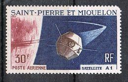 SAINT-PIERRE-ET-MIQUELON AERIEN N°34 N** - Airmail