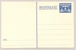 Nederland - 1942 - 4+4 Cent, Briefkaart G270 - Ongebruikt - Ganzsachen