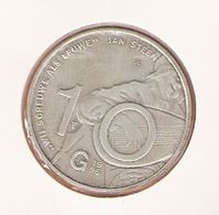 NEDERLAND 10 GULDEN 1996 ZILVER UNC JAN STEEN - [ 8] Monete D'Oro E D'Argento