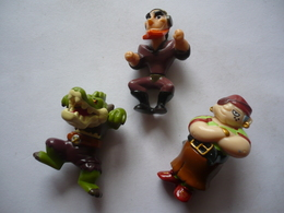 3  Figurines KINDER -  MPG - Mountables