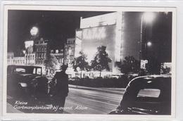 Amsterdam Kleine Gartmanplantsoen Bij Avond City Theater Oude Auto's # 1952   1513 - Amsterdam
