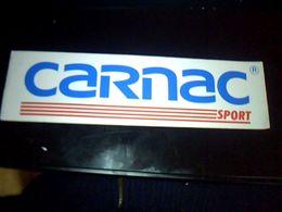 Autocollant  Publicite  Sport Velo Equipement Cyclistes CARNAC SPORT - Stickers