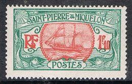 SAINT-PIERRE-ET-MIQUELON N°117A N* - Unused Stamps
