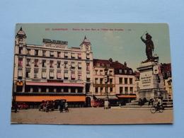 Statue De Jean Bart Et L'Hôtel Des Arcades DUNKERQUE ( 320 - Levy ) Anno 1950 ( Voir Photo ) - Dunkerque