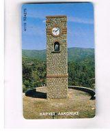 GRECIA (GREECE) -  1999 -  TOWER CLOCK    - USED - RIF.   25 - Greece