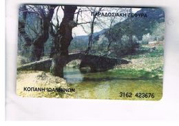 GRECIA (GREECE) -  1999 -  BRIDGE    - USED - RIF.   25 - Greece