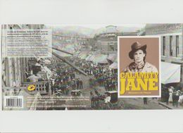 """France : Collector """"Calamity Jane"""" - 4 Timbres Autocollants - - Frankreich"""