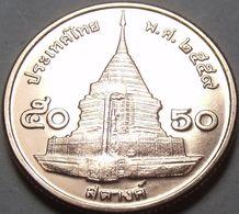 Thailand - 50 Satang 2016 UNC Roll - Thailand