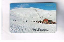 GRECIA (GREECE) -  1999 -  WINTER LANDSCAPE    - USED - RIF.   26 - Greece