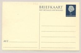 Nederland - 1954 - 7+7 Cent Juliana En Profil, Briefkaart G316 - Ongebruikt - Entiers Postaux