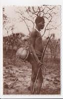 CARTE PHOTO RWANDA Chasseur Indigene Tanganyka - Rwanda