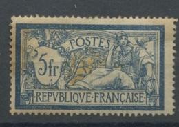 123 *   5F Merson   Traces De Charnière Propres     Cote 100,- E  JAUNI Mais Pas Rouillé - 1900-27 Merson