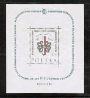 POLAND  Scott # 1049** VF MINT NH Souvenir Sheet SS-19 - Blocks & Sheetlets & Panes
