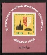 POLAND  Scott # 1165** VF MINT NH Souvenir Sheet SS-20 - Blocks & Sheetlets & Panes